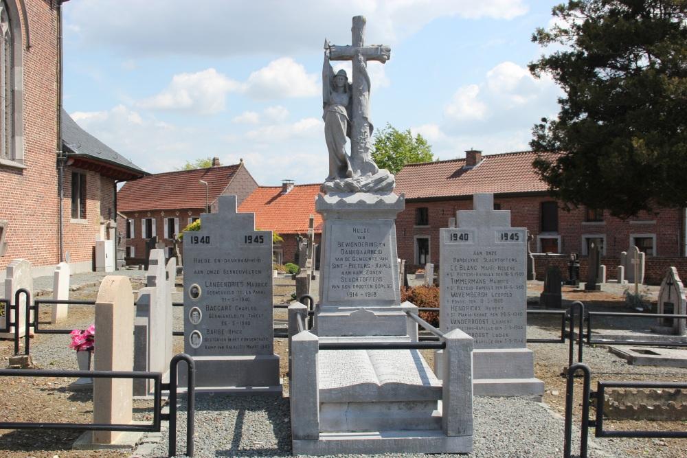 War Memorial Sint-Pieters-Kapelle