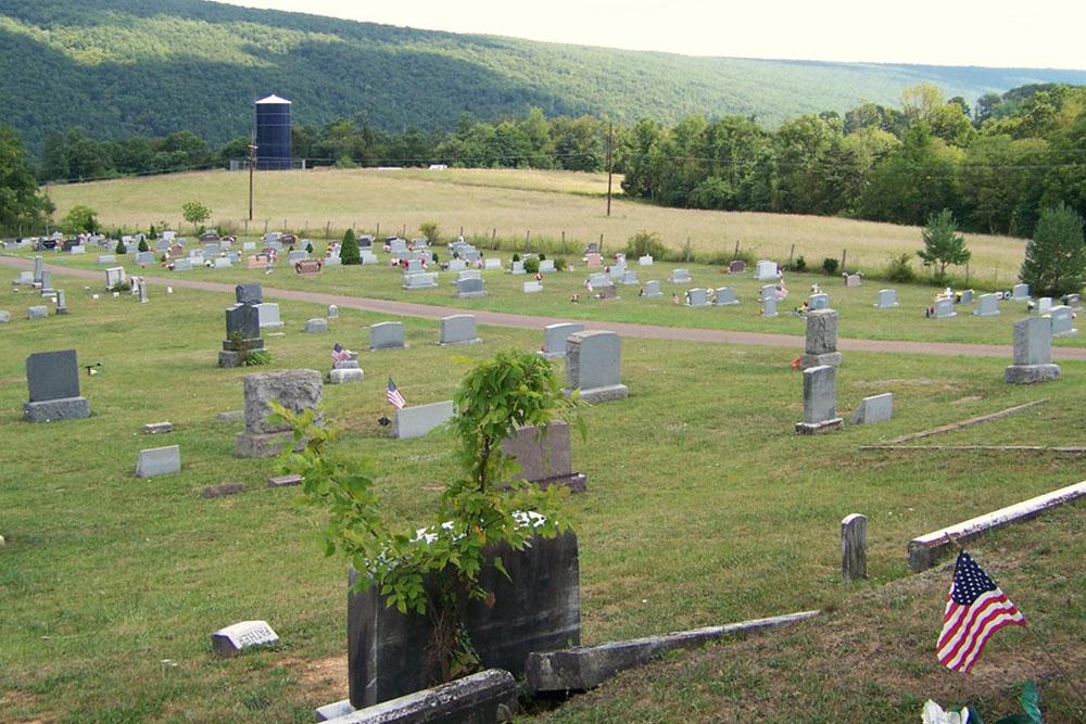 Amerikaanse Oorlogsgraven Hyndman Cemetery