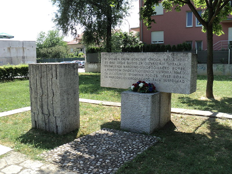 Monument Omgekomen Partizanen Stenjevec