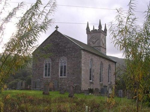 Commonwealth War Graves Fintry Parish Churchyard