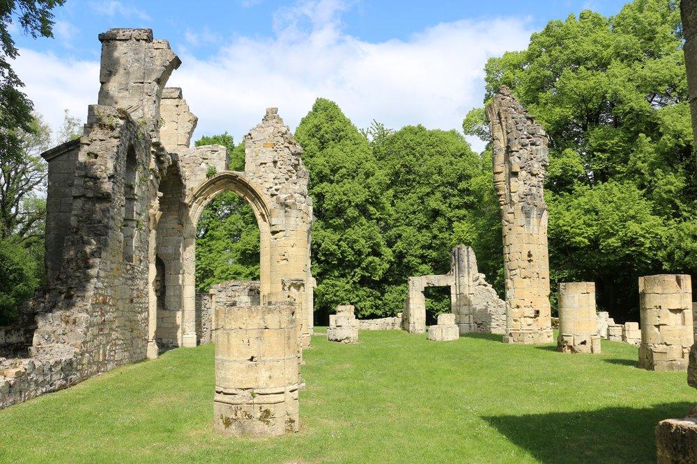 Ruins Church Montfaucon-d'Argonne