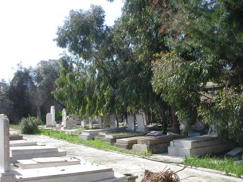 Oorlogsgraven van het Gemenebest Marsa Joodse Begraafplaats
