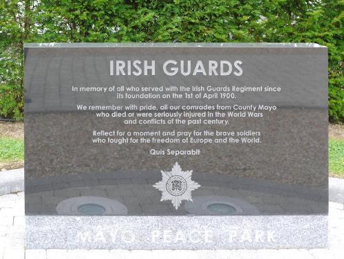 Gedenkstenen Mayo Peace Park - Garden of Remembrance