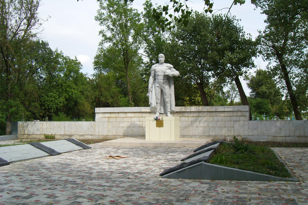 Mass Grave Soviet Soldiers Grozny