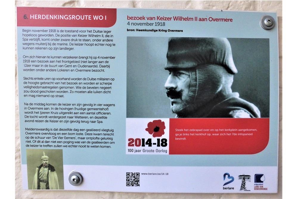 Herdenkingsroute 100 jaar Groote Oorlog - Informatiebord 6