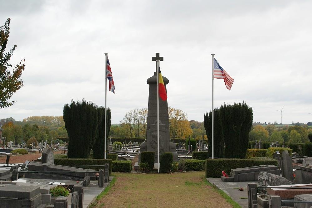 Oorlogsmonument Begraafplaats Gembloux