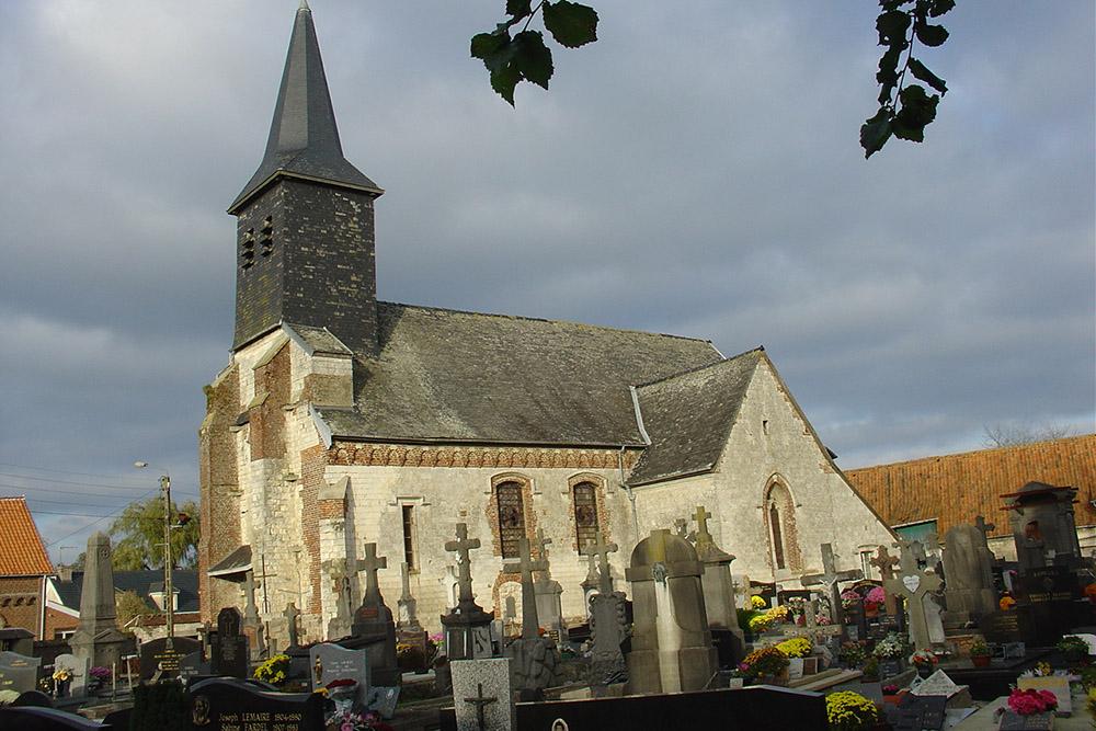 Franse Oorlogsgraven Monchy-Breton