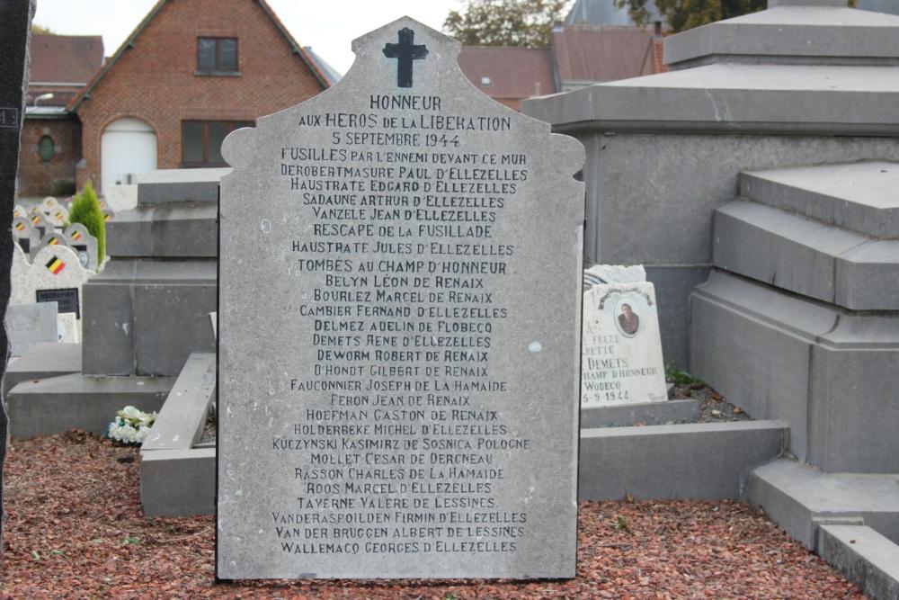 Memorial Liberation 1944 Cemetery Ellezelles