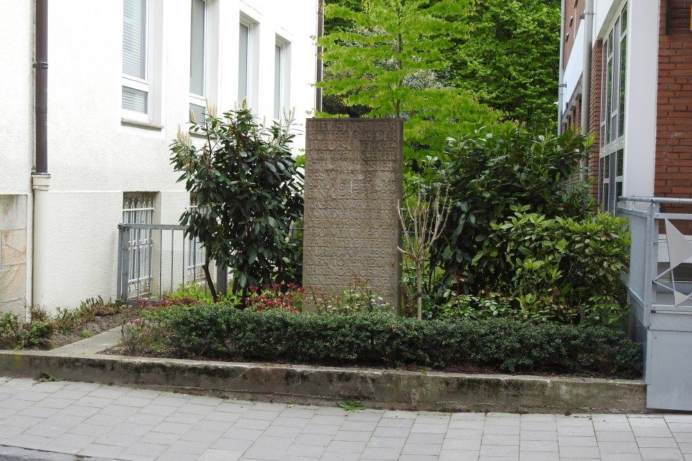 Jewish Memorial Münster