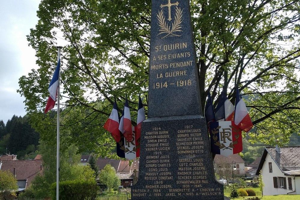 Oorlogsmonument Saint Quirin