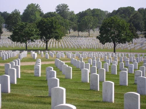Commonwealth War Grave Fort Snelling National Cemetery