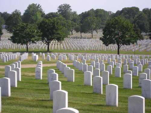 Oorlogsgraf van het Gemenebest Fort Snelling National Cemetery