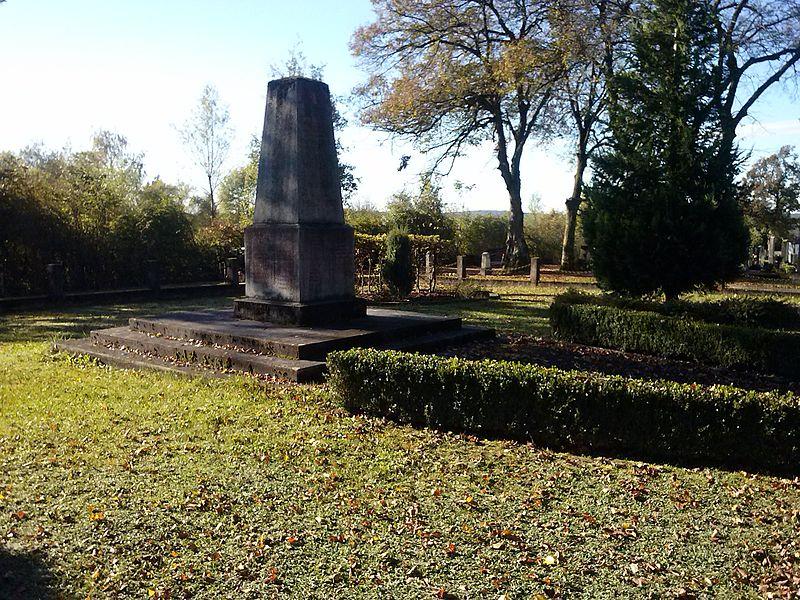 Russian Mass Grave Großpetersdorf