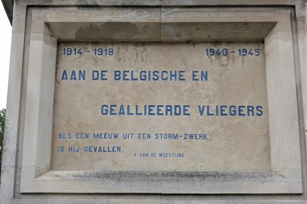 Monument Belgische en Geallieerde Vliegers