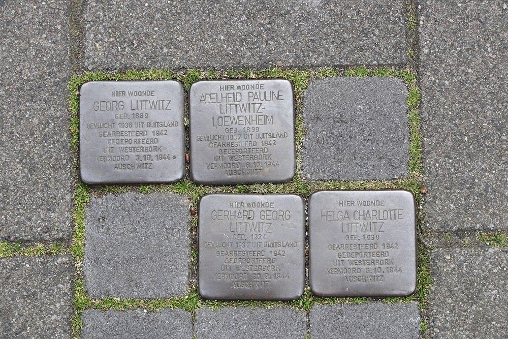 Stumbling Stones Pieter Pauwstraat 94