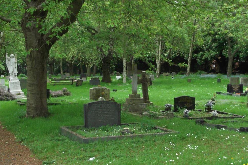 Oorlogsgraven van het Gemenebest Corby Cemetery