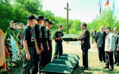 German War Cemetery Krasnodar - Apscheronsk