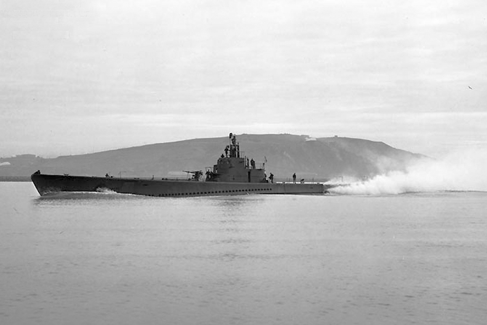 Scheepswrak USS Seawolf (SS-197)