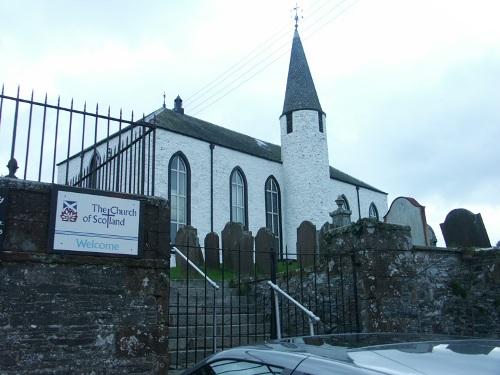 Commonwealth War Graves Crossmichael Parish Churchyard Extension