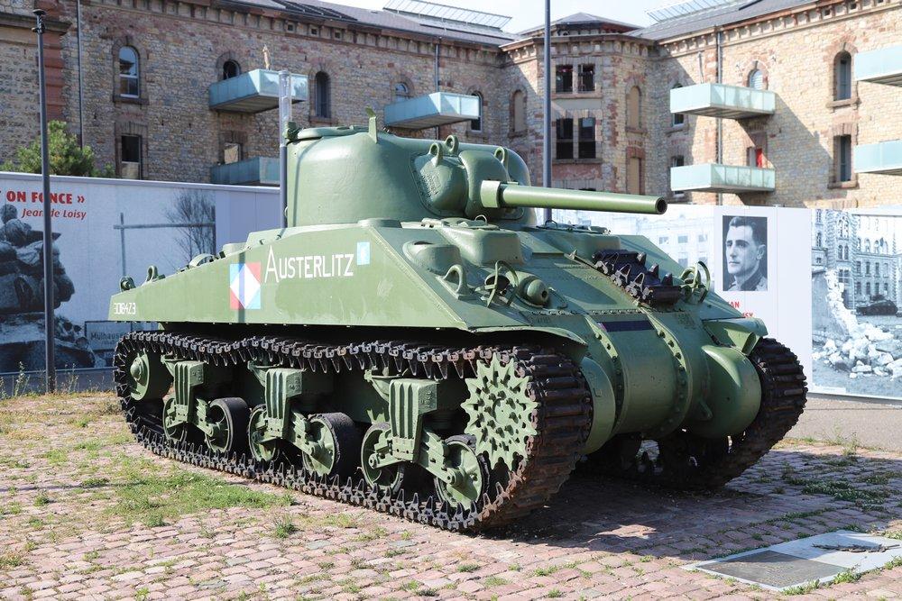 M3A4 Sherman Tank