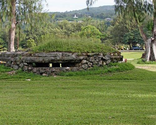 Japans Mitrailleursnest American Memorial Park