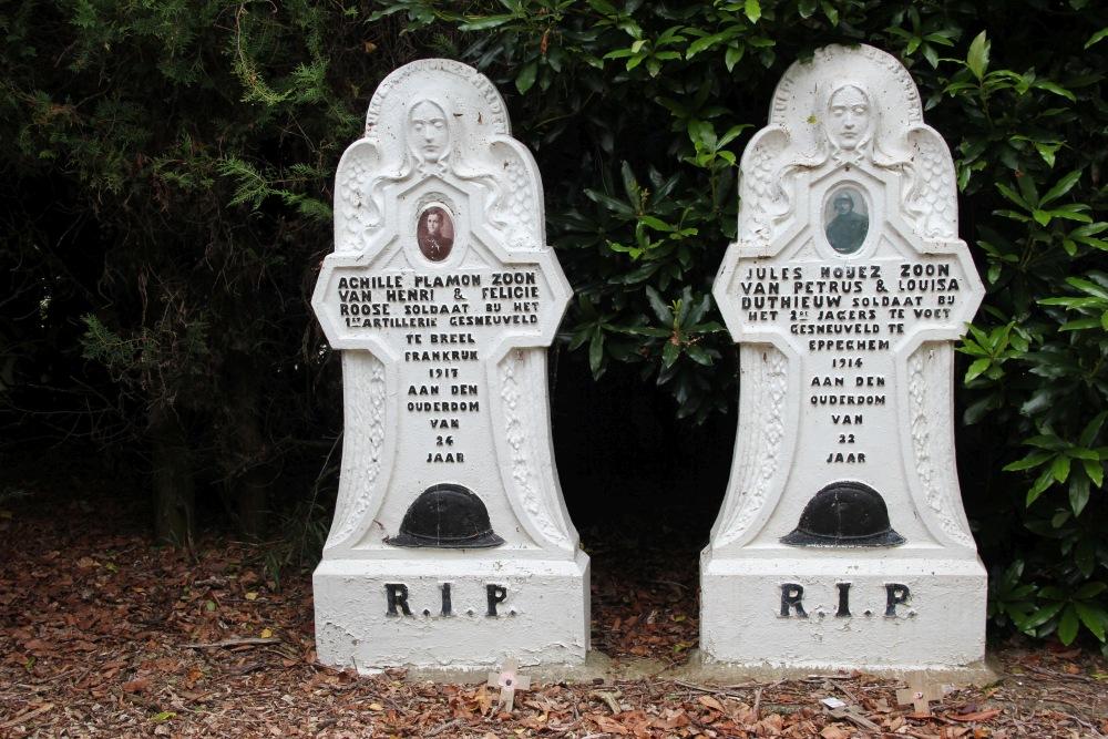 Belgian War Graves Poelkapelle
