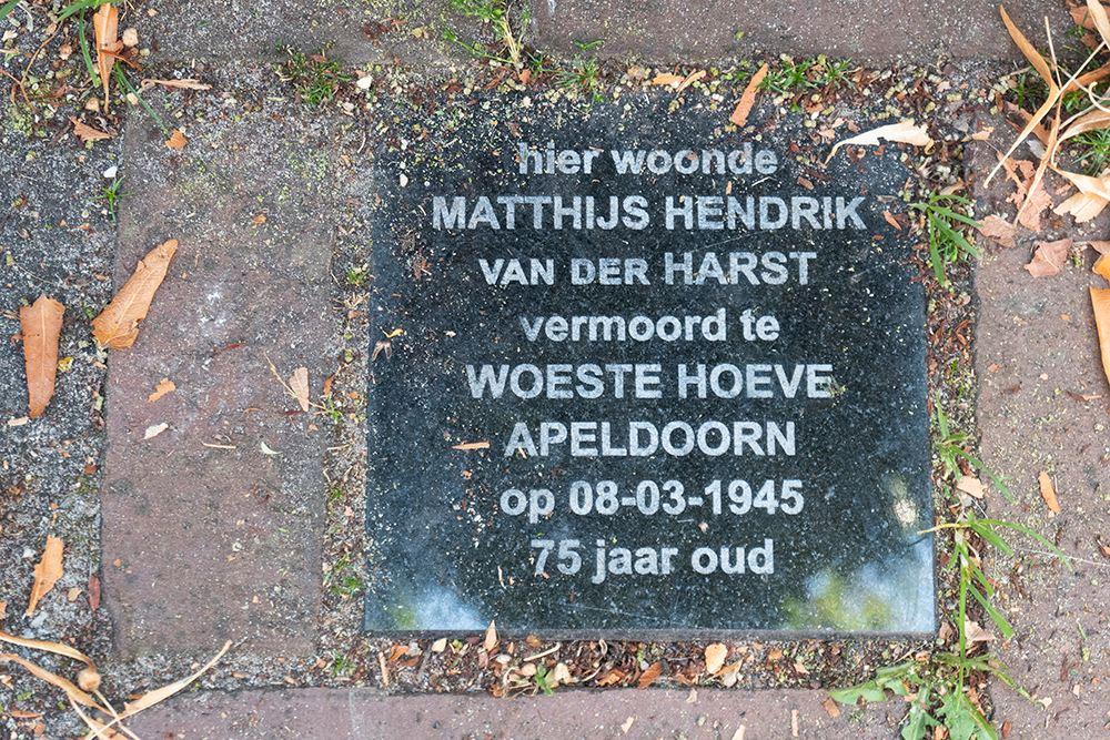 Herdenkingssteen Madoerastraat 23