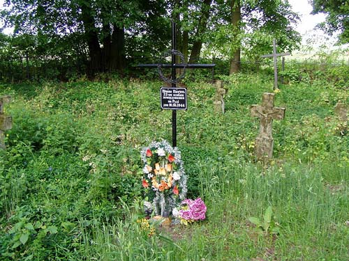 Symbolic Mass Grave Ukrainian Civillians