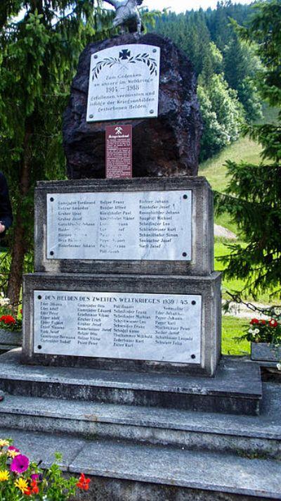 War Memorial Altenberg an der Rax