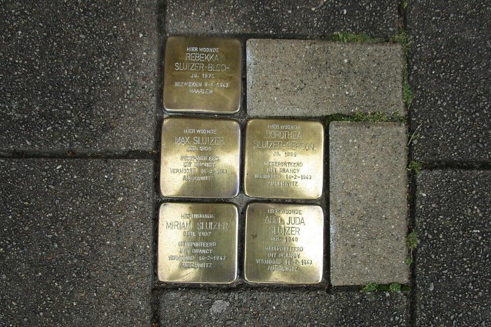 Remembrance Stones Minervaplein 5