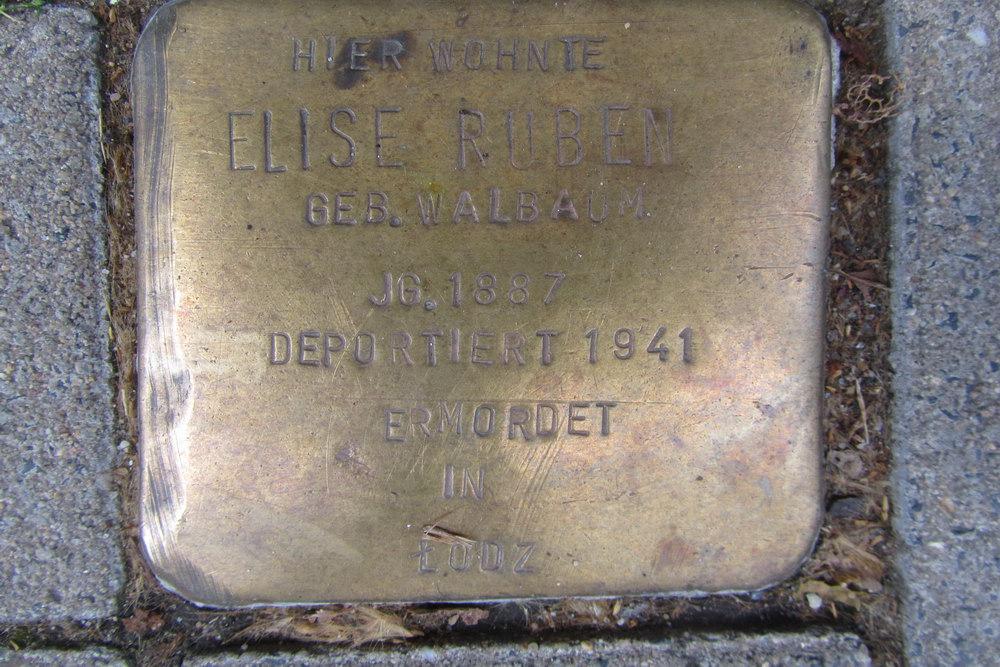 Stolperstein Steinfelder Gasse 21