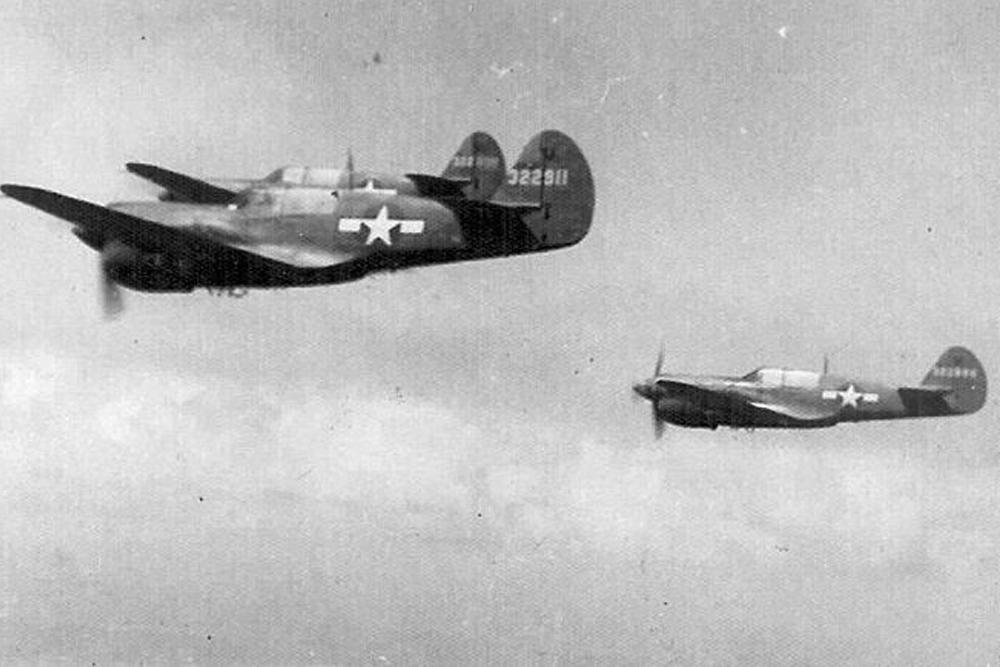 Crashlocatie P-40N Warhawk # 42-105517