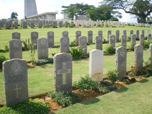Commonwealth War Grave Kranji Military Cemetery