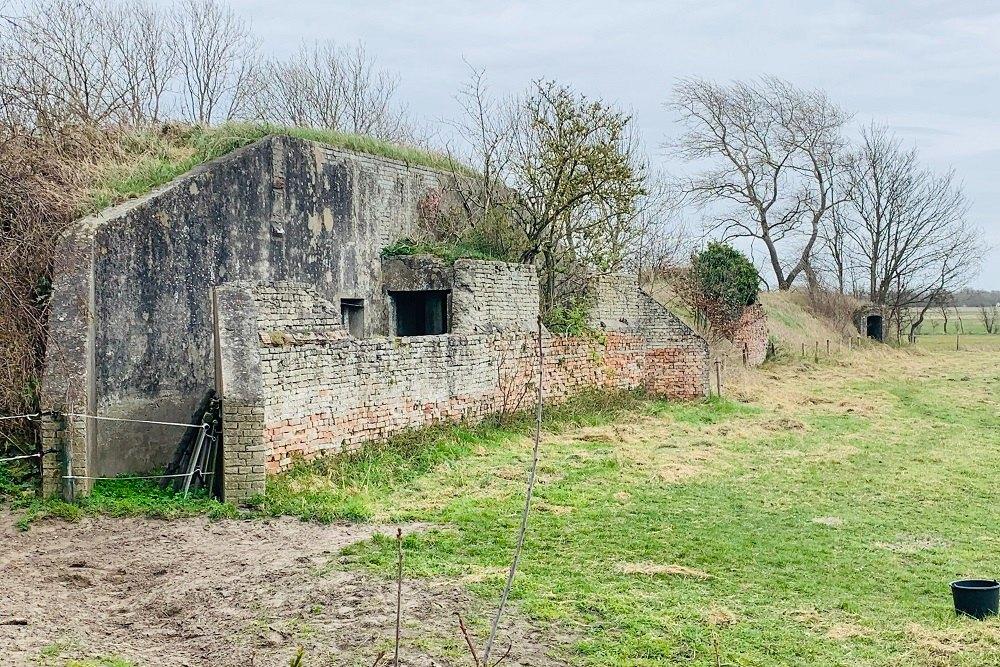 Duitse Bunker Type FA Unterstand Goedereede