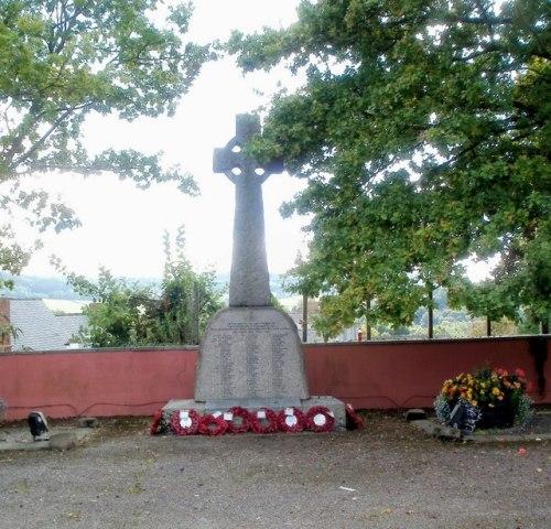 War Memorial Royal Monmouthshire Royal Engineers