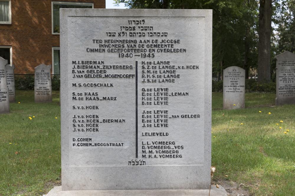 Monument Joodse Begraafplaats Ommen
