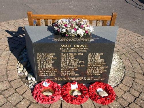 Monument HMS Vandal (P64)