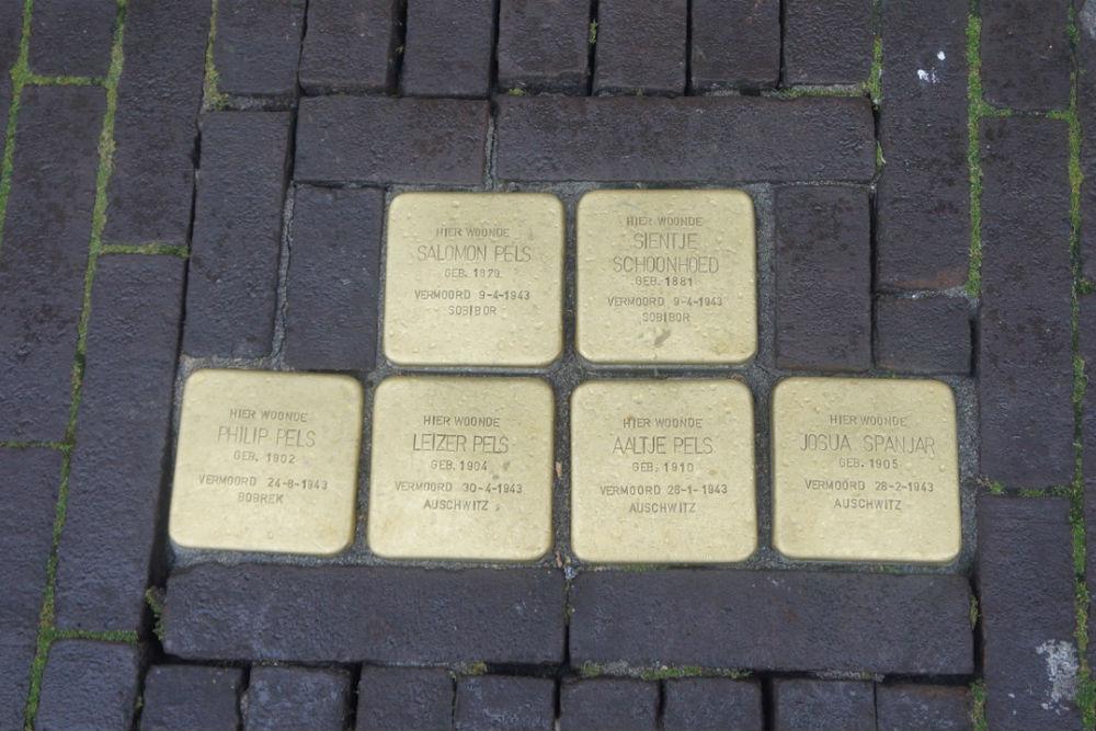 Stolpersteine Hommelstraat 48