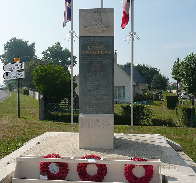 Monument 50th Northumbrian Division