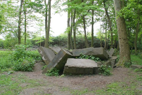 Remains of World War Two in