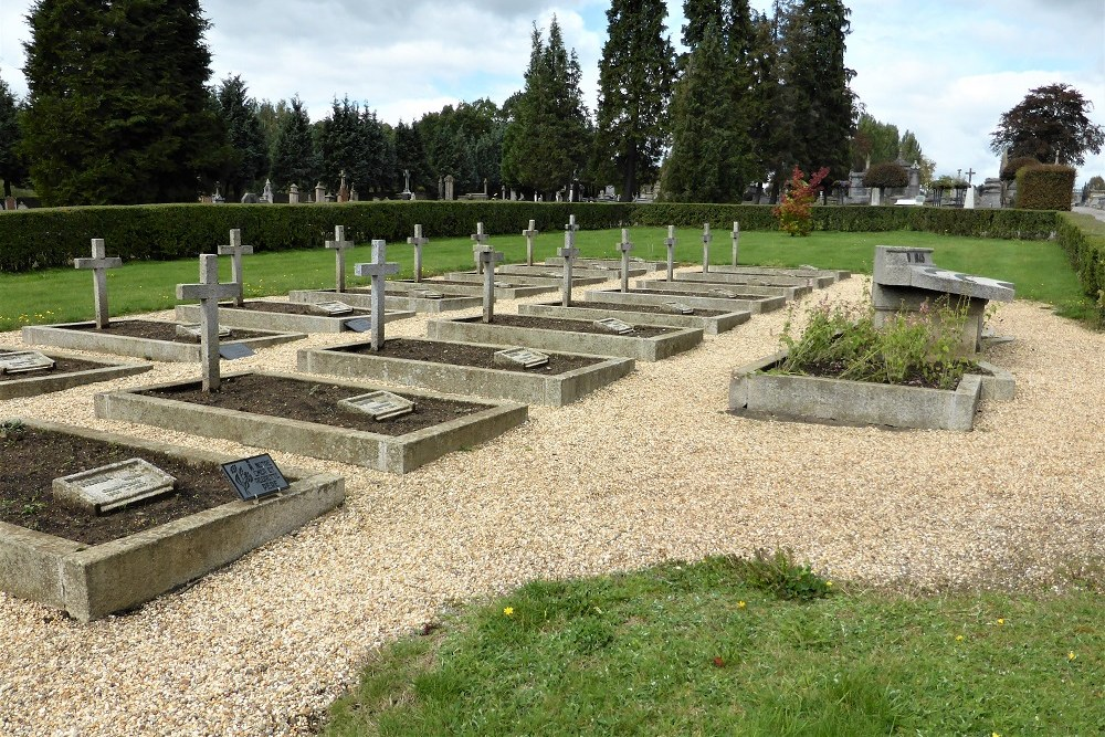 Belgian War Graves Municipal Cemetery Arlon