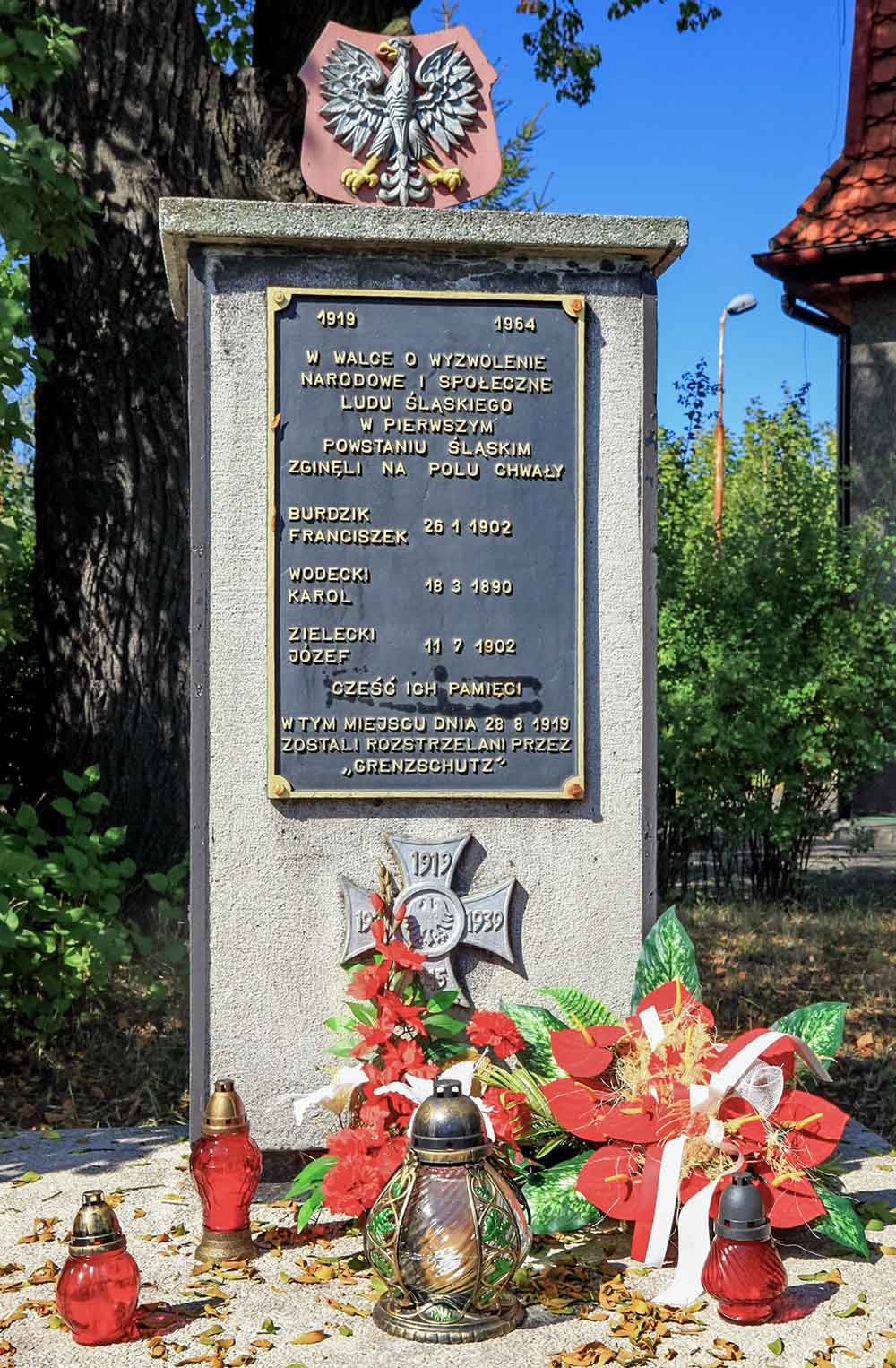 Memorial Polish Insurgents 1919