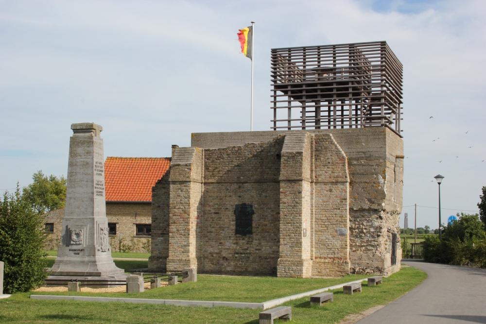 Belgian Observation Post Stuivekenskerke