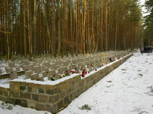 Cemetery Victims National Socialism Piaśnica