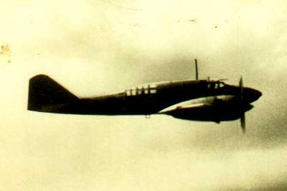 Crash Site & Remains Mitsubishi Ki-46-II Dinah 2406