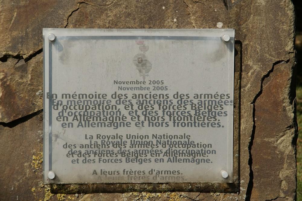 Monument Belgische Strijdkrachten Theux