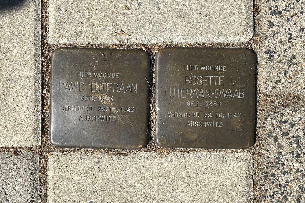 Stolpersteine Arnhemsestraat 74