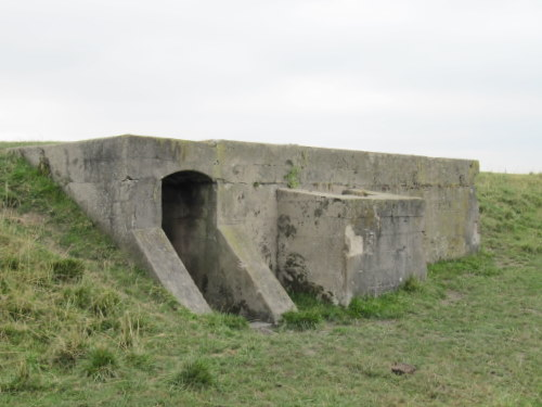 Bunker in Stützpunkt Scharnhorst Arnemuiden