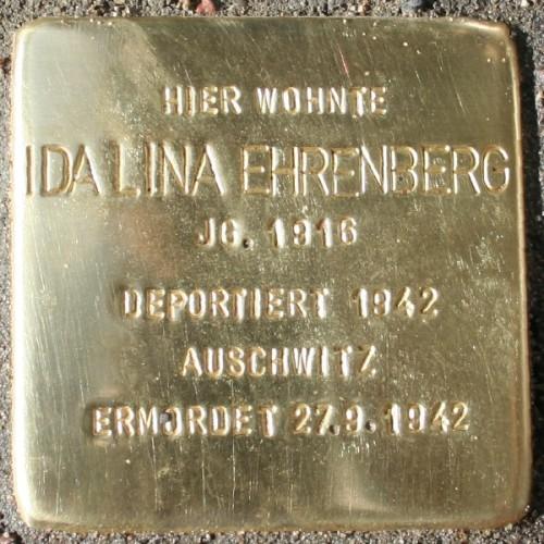 Stolperstein Adlerstraße 36