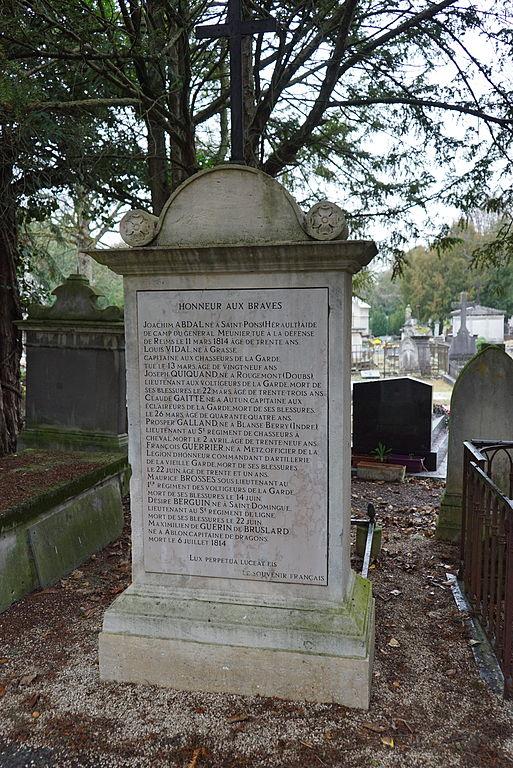 Grave Victims Battle of Reims